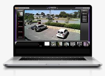 Spectur security camera on PC