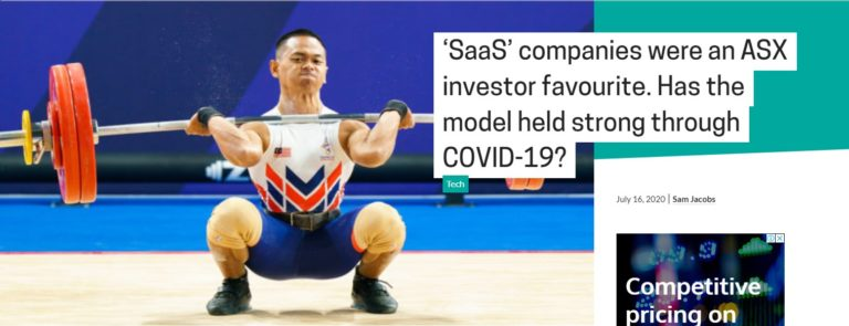 'SaaS' companies were an ASX investor favourite. Has the model held strong through COVID-19?