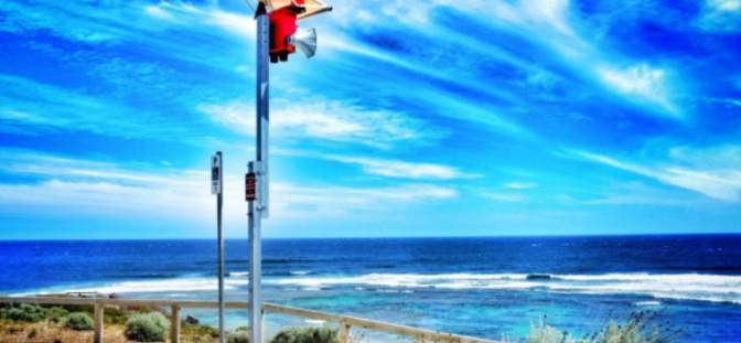 Government installing CCTSpectur enters new market with Shark Warning System collaboration
