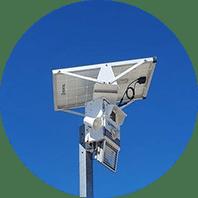 Surveillance reduce crime costs