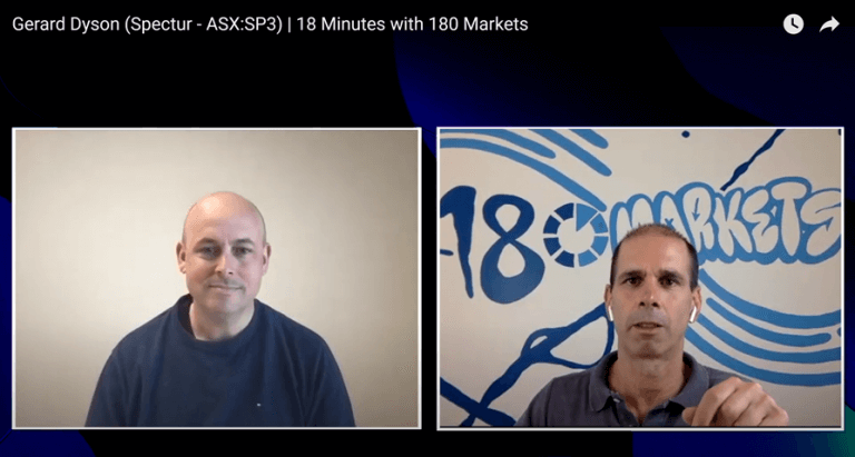 18 Minutes with 180 Markets, Interview with Gerard Dyson